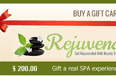 Buy Beauty Gift Card and Vouchers in Auckland for facials waxing spray tan spa treatments $ 200.00