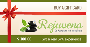 Rejuvena Beauty Gift Card $ 300.00